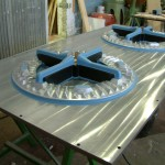 molde metálico para series largas