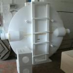 molde de poliestrino circular grande