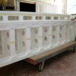 molde de poliestireno grande