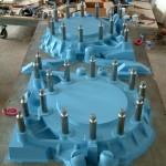 moldes de resina para piezas industriales